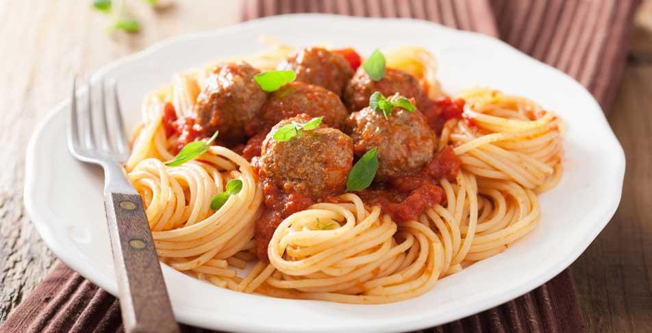 spaghetti à la viande
